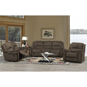 Edward 3 Piece Living Room Set by Brassex