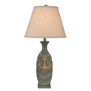 Ikeda Chevron Pot 28 Table Lamp
