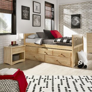 Spigner Twin Bed with Trundle by Viv + Rae