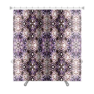 Simple Ethnic Pattern Abstract Kaleidoscope Premium Single Shower Curtain