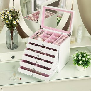 Searching for 6-Layer Extra Large Girls Jewelry Box By Harriet Bee