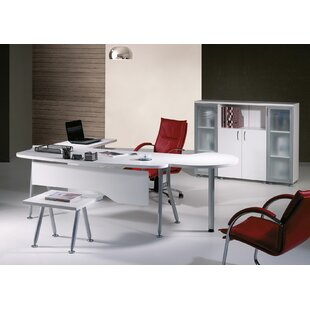 Puente Modern 6 Piece L Shaped Desk Office Suite by Brayden Studio Cool