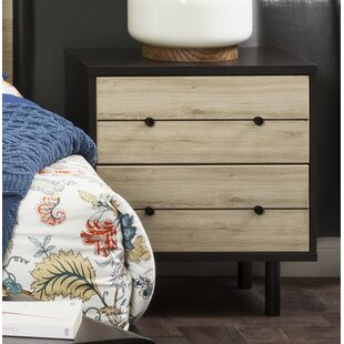 Compare & Buy Bookout 2 Drawer Nightstand by Langley Street