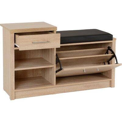 Latitude Run Kelton 12 Pair Shoe Storage Bench Wayfair Co Uk