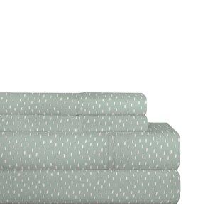 Gerstner Rain Drops 200 Thread Count 100% Cotton Sheet Set