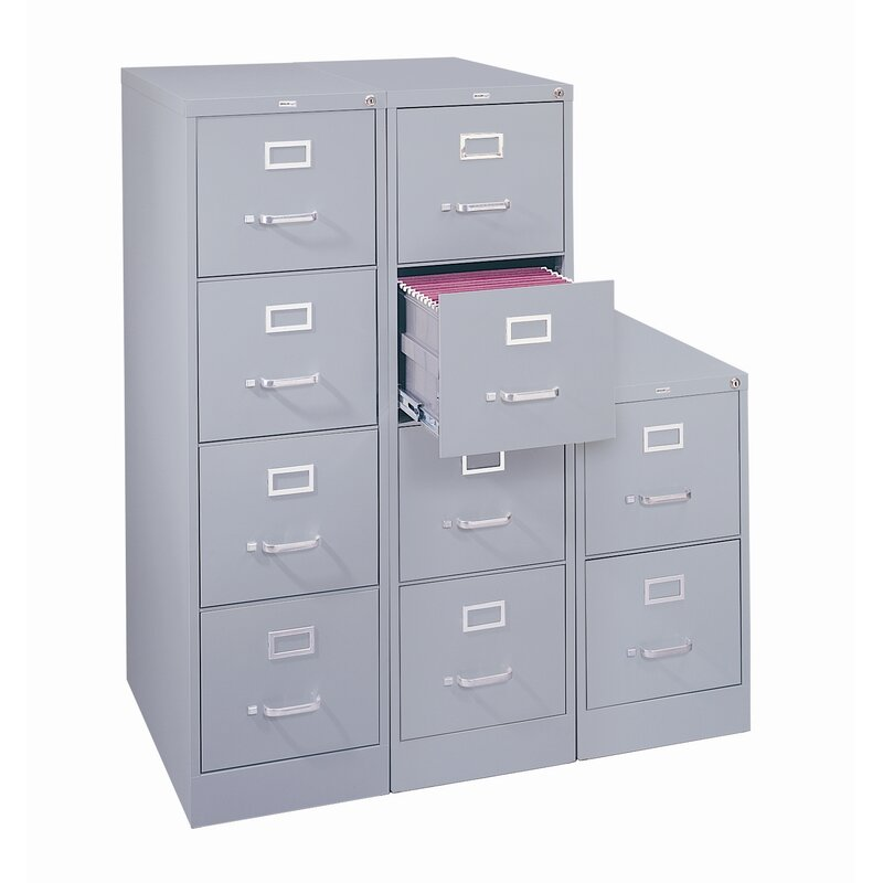 Kane 4 Drawer Commercial Letter Size File Cabinet