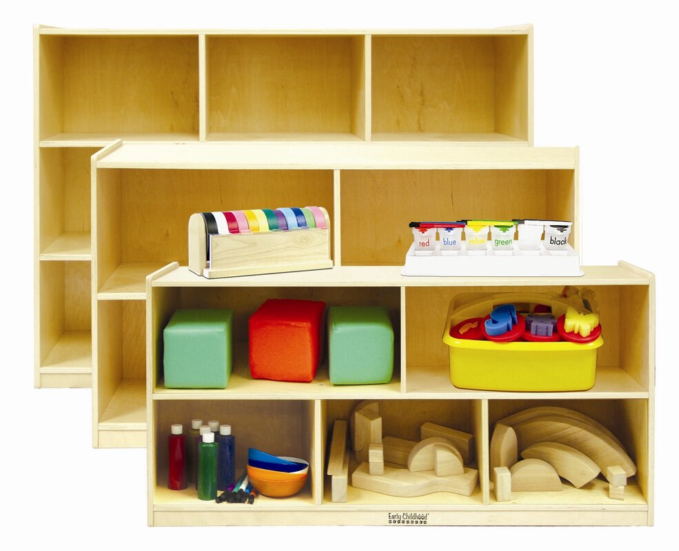 Stackable 5 Shelving Unit with Casters