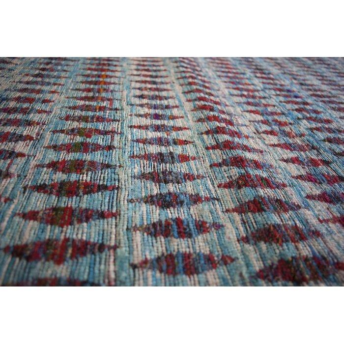 Moroccan Hand Woven Multicoloured Area Rug