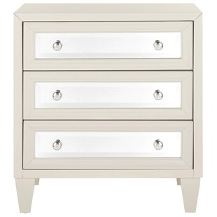 Leandro 3 Drawer Accent Chest
