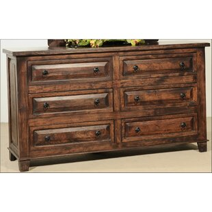 Find the perfect Castle 6 Drawer Double Dresser by Aishni Home Furnishings