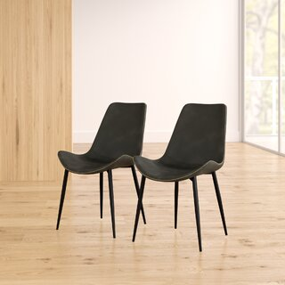 Amendola Upholstered Dining Chair (Set of 2) by Mercury Row SKU:AE950103 Information