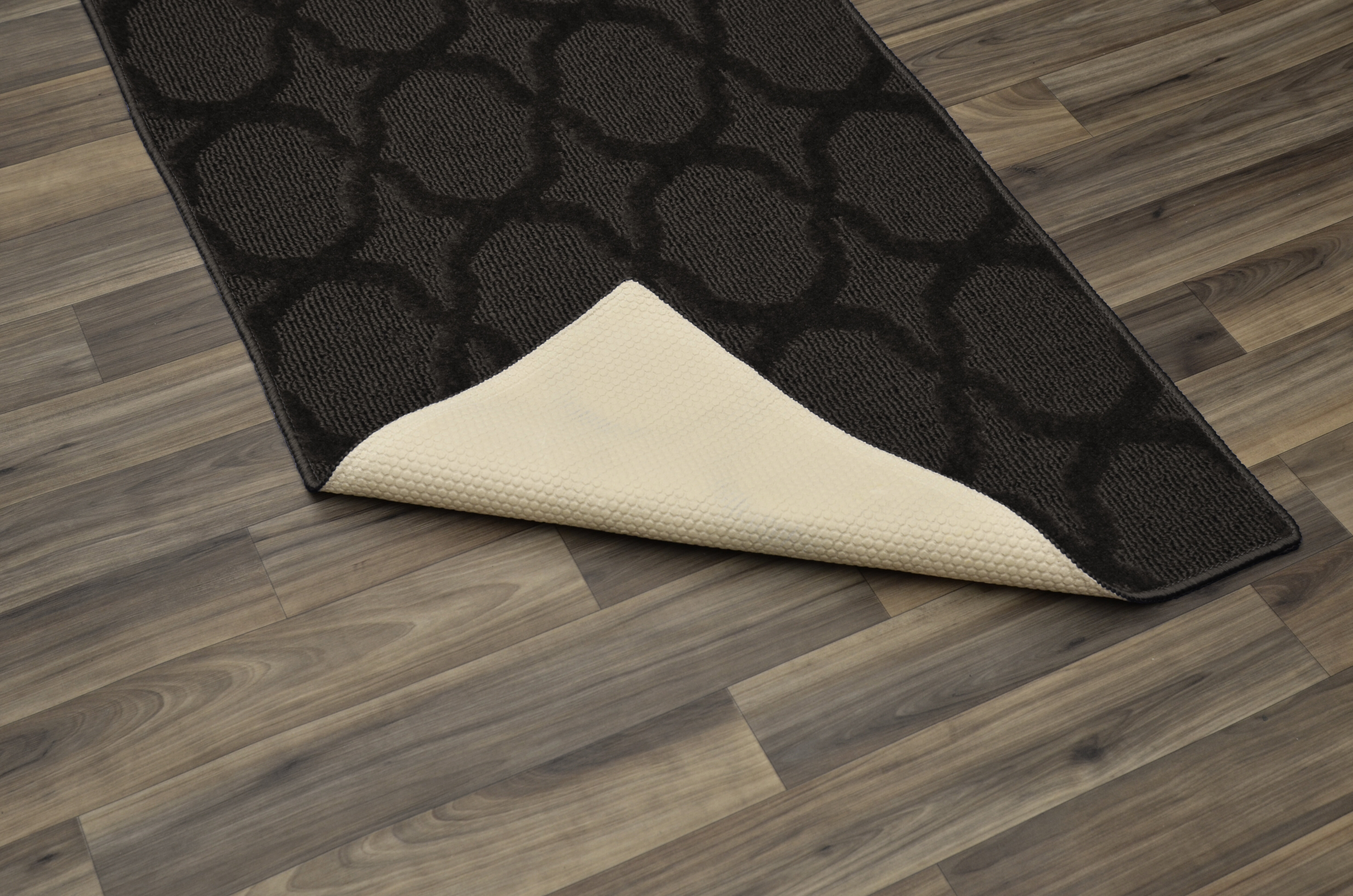 Charlton Home Southington Geometric Tufted Mocha Area Rug Reviews Wayfair