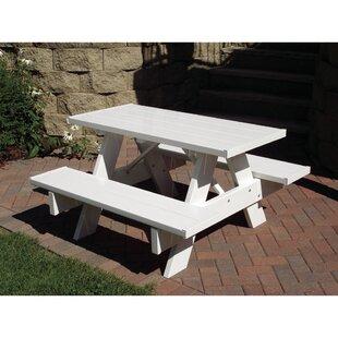 Buying Kids Square Picnic Table ByDura-Trel
