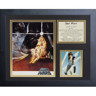 Star Wars Framed Memorabilia