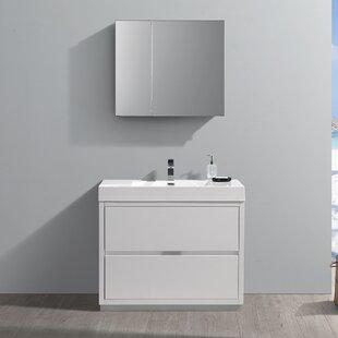 Best Choices Senza Valencia 42 Single Bathroom Vanity Set ByFresca