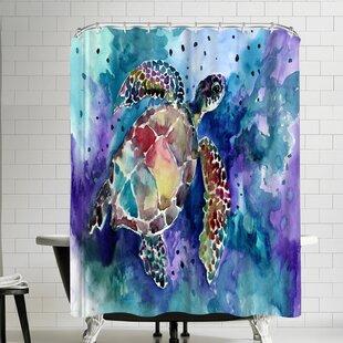 Suren Nersisyan Sea Turtle Single Shower Curtain