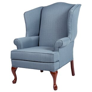 Top Reviews Al Maha Wingback Chair By Canora Grey