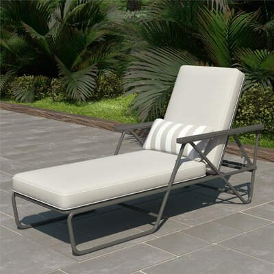 Cushioned Reclining Outdoor Chaise Amp Lounge Chairs You Ll