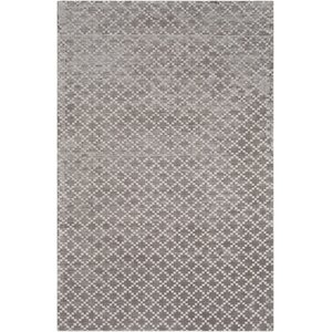 Tudor Hand Woven Medium Gray Area Rug