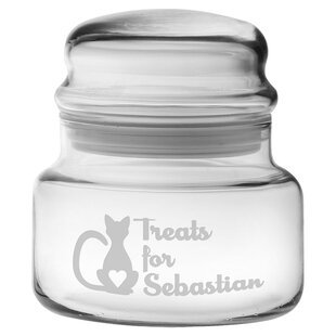 Personalized Treats for Kitty Spice Jar