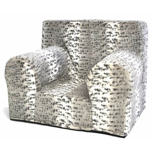Nickles Snow Leopard Kids Chair by Zoomie Kids