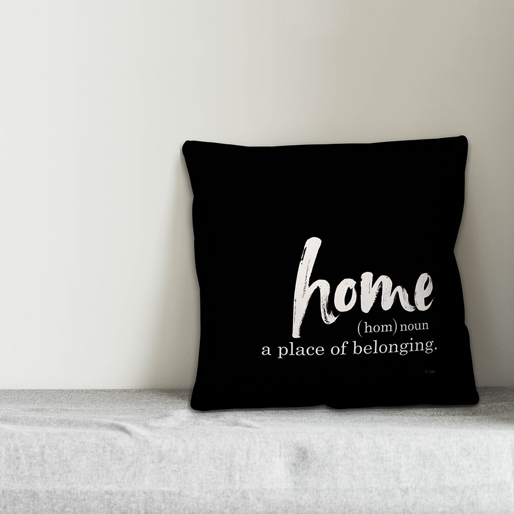 Jaxn Home Definition Throw Pillow Wayfair