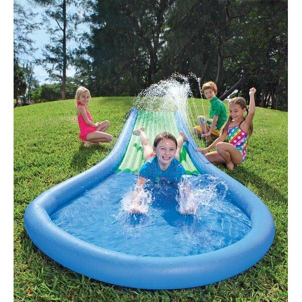 hearthsong inflatable water slide reviews wayfair