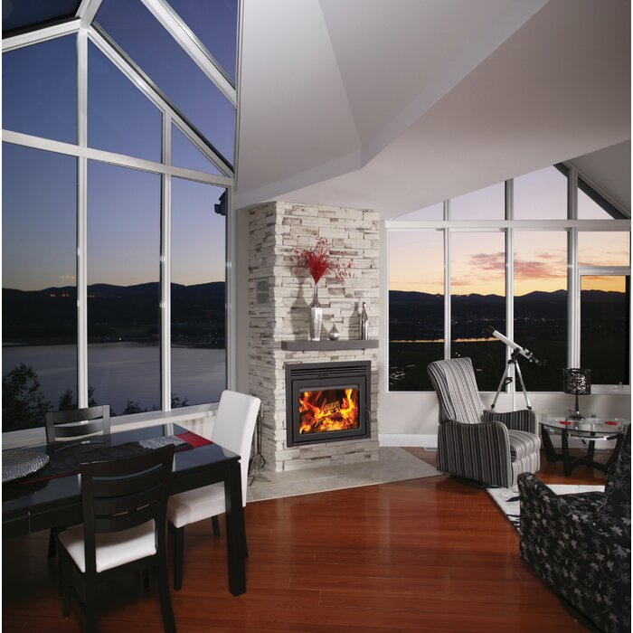 pdp improvement wood insert zero semi fireplaces supreme clearance burning fireplace classic home inc galaxy inserts