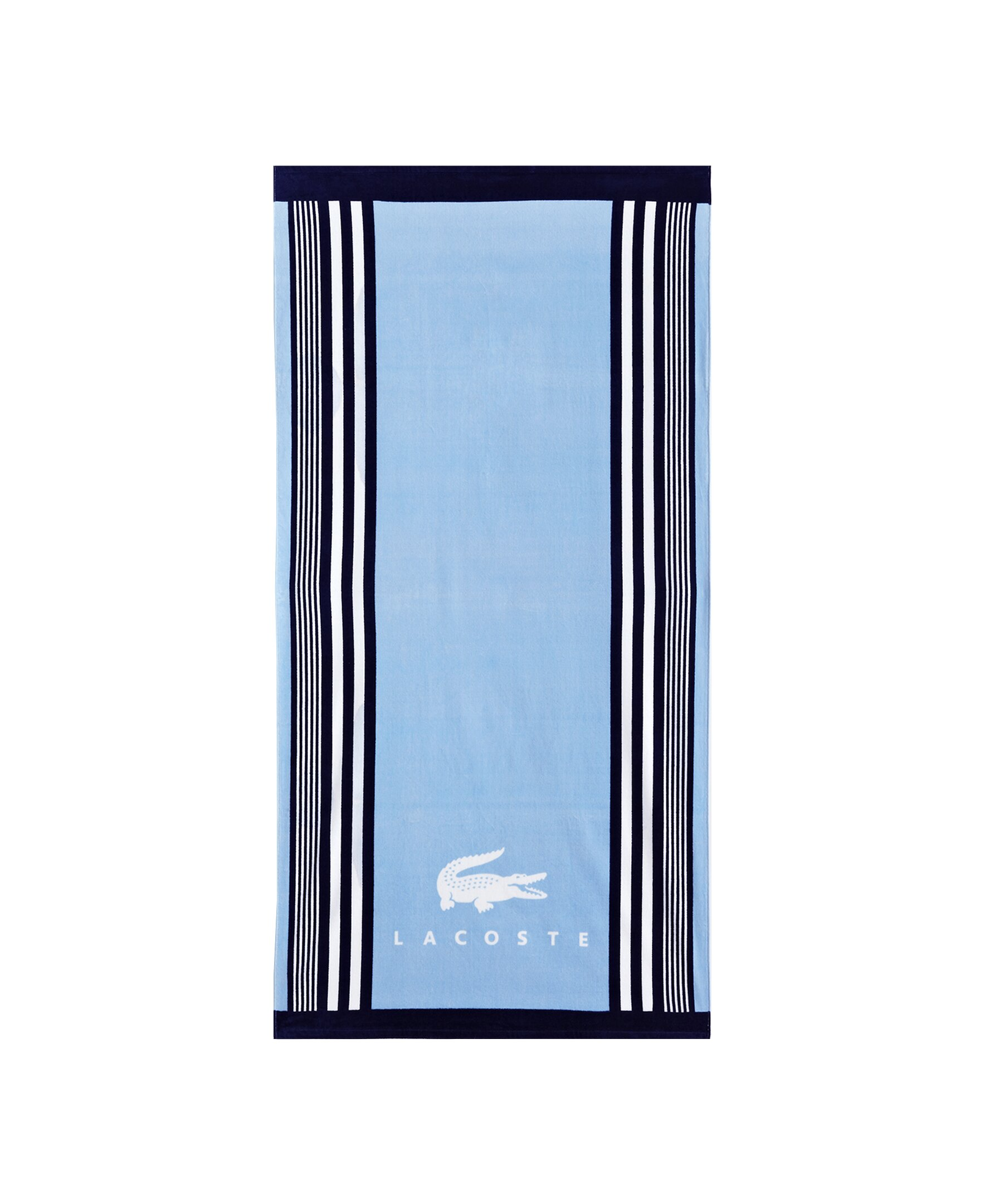 Lacoste Towels Clearance: Lacoste Oki 100% Cotton Beach Towel