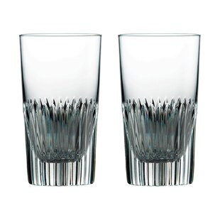 Calla 9 oz. Crystal Highball Glass (Set of 2)