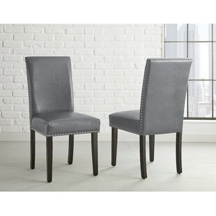 Cotter Upholstered Dining Chair (Set of 2) Wrought Studio
