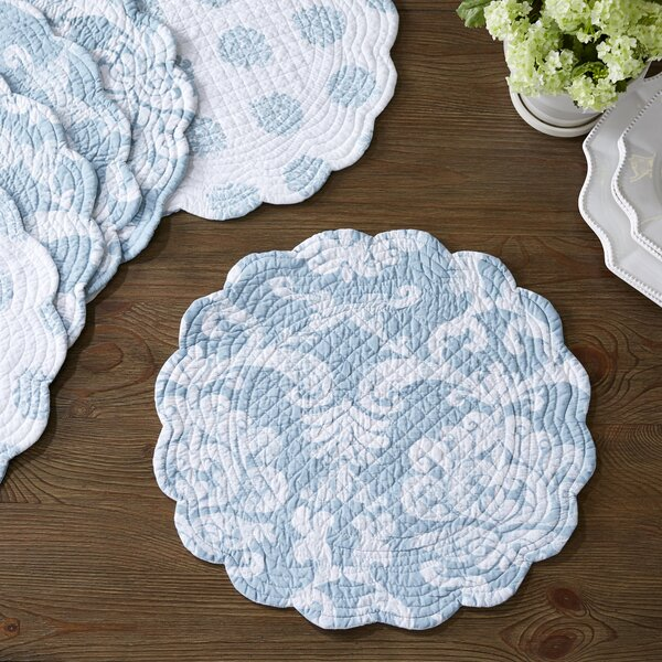 Blue Quilted Placemats Wayfair
