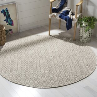 Aconite Hand-Woven Cotton Ivory/Beige Area Rug by Mack & Milo