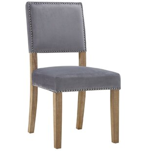 Axton Upholstered Dining Chair (Set of 4) One Allium Way
