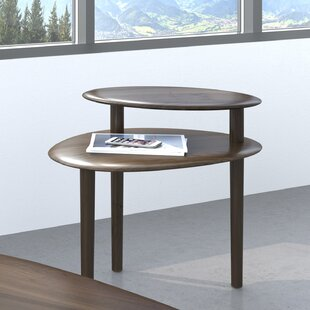 Orlo - End Table - Toasted Walnut Finish