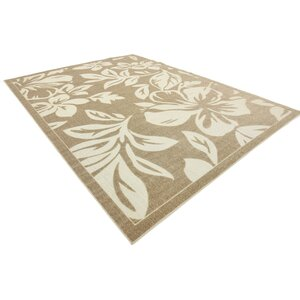 Duxbury Beige Indoor/Outdoor Area Rug