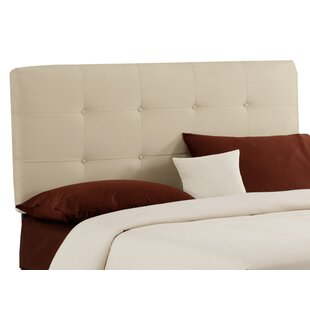 Best Choices Double Button Tufted Upholstered Panel Headboard BySkyline Furniture