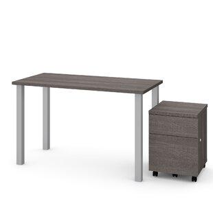 Esperanza 2 Piece Desk Office Suite by Symple Stuff Cool