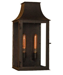 Great choice Brighton 2-Light Outdoor Wall Lantern By Laura Lee Designs