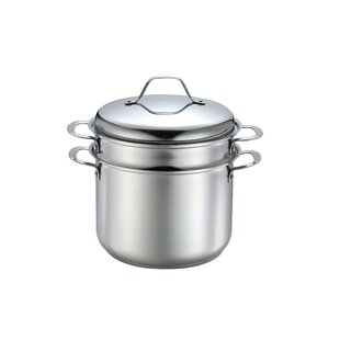 Pasta Steamer 8 Qt Multi Pot Set With Lid Of 4