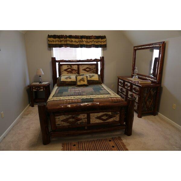 Loon Peak Minehead Standard Solid Wood Configurable Bedroom Set Wayfair