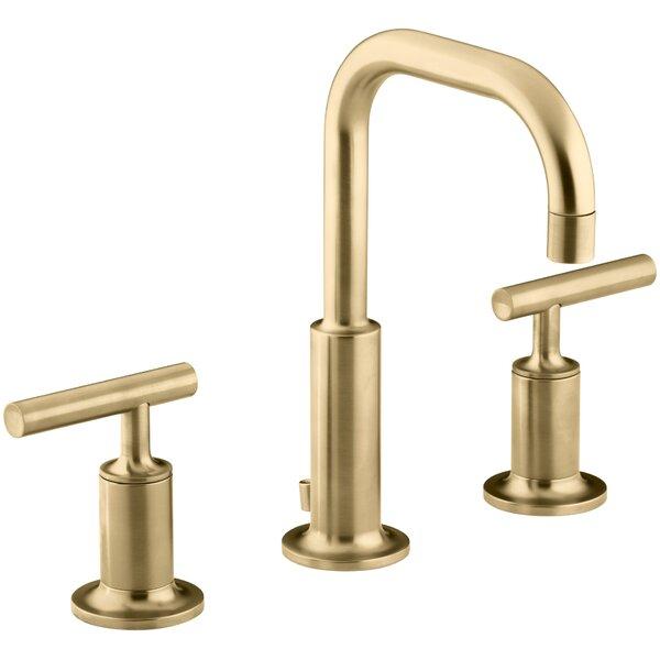 purist widespread bathroom faucet with drain assembly reviews rh allmodern com brass bathroom faucets amazon brass bathroom faucet handles
