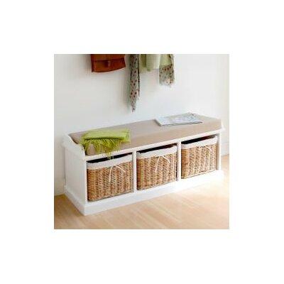 Hazelwood Home Küchenbank Boston aus Holz mit Stauraum & Bewertungen ...