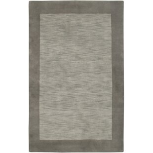 Hand-Woven Grey Area Rug by The Conestoga Trading Co.
