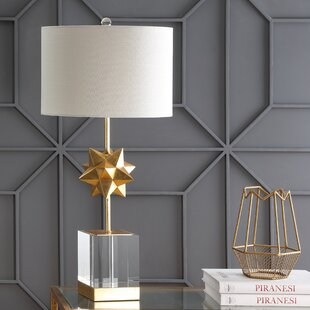 Order Knopp LED Metal/Crystal 32 Table Lamp By Mercer41