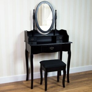 vanity table no mirror. Vida Nishano Dressing Table Set with Mirror Tables  Sets Wayfair co uk