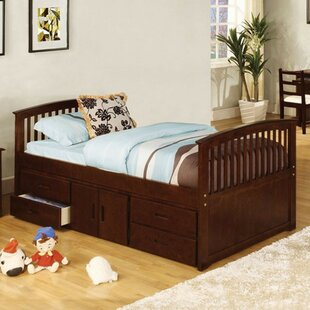 Yate Twin Storage Platform Bed with 4 Drawers by Harriet Bee