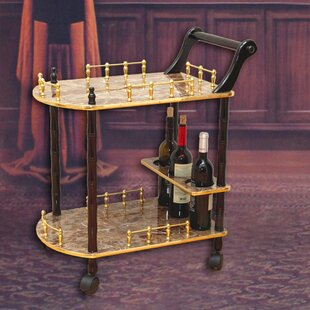 2-Tier Bar Cart by Uniquewise