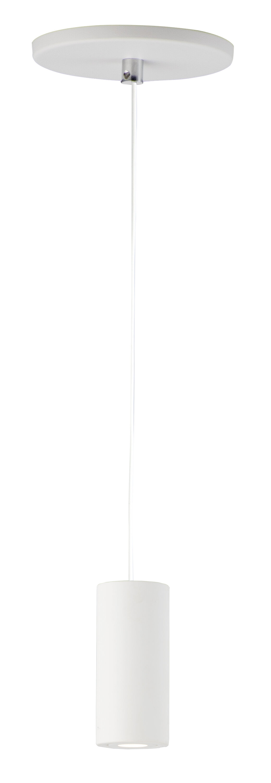 Orren Ellis Kepler 1 Light Single Cylinder Led Pendant Wayfair