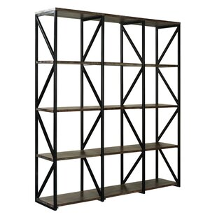 Bengal Manor Acacia Wood Standard Bookcase